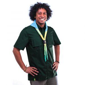 Camisa Manga Curta Adulto Verde Garrafa  Masculina Modelo 2016
