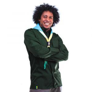 Camisa Manga Longa Adulto Verde Garrafa Masculina Modelo 2016