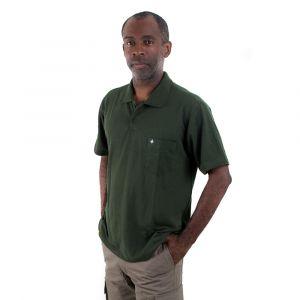 Camisa Polo Adulto Verde Garrafa Masculina Modelo 2016