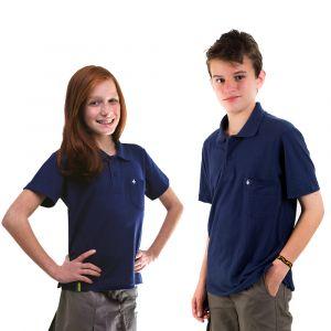 Camisa Polo Azul Marinho Infantil Modelo 2016