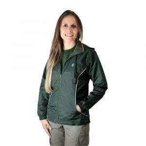 Jaqueta Adulto Verde Garrafa Feminina Modelo 2016