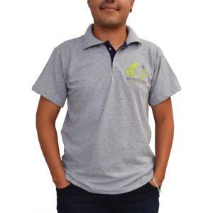 Camisa Polo Centenário Insígnia de Madeira Unissex