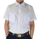 Camisa Manga Curta Uniforme do Mar Masculina