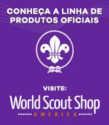Conheça a linha de Produtos Oficiais Scout Shop