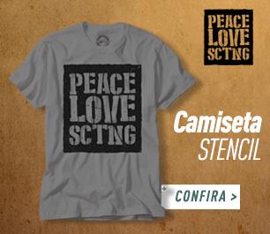 CAMISETA STENCIL MASCULINA