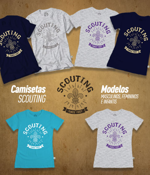 Camisetas Scouting