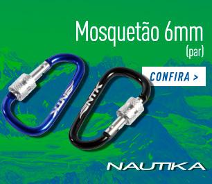 MOSQUETÃO 6 MM NAUTIKA LOJA ESCOTEIRA